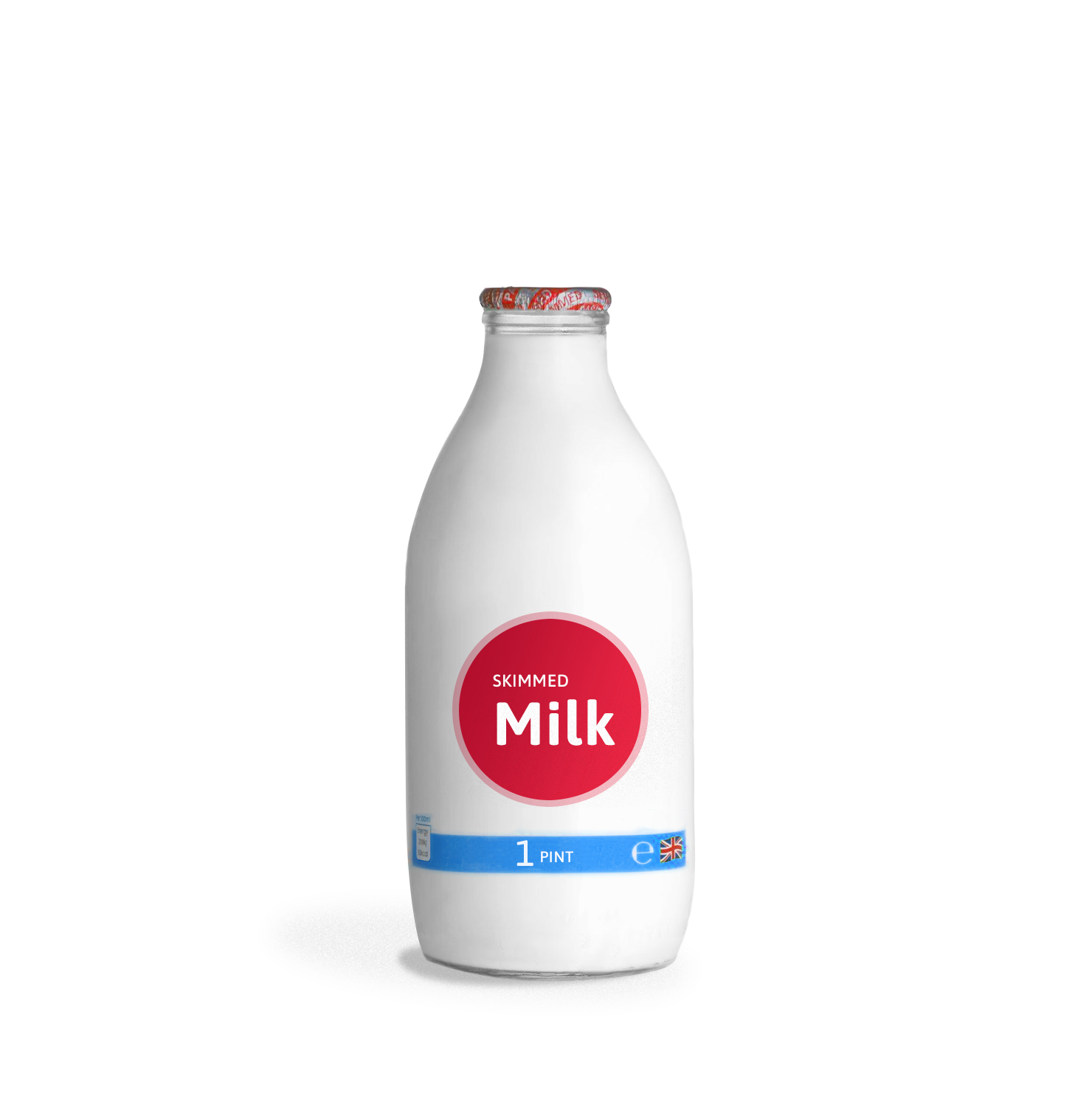 1 Pint Glass Milk Delivery - Skimmed