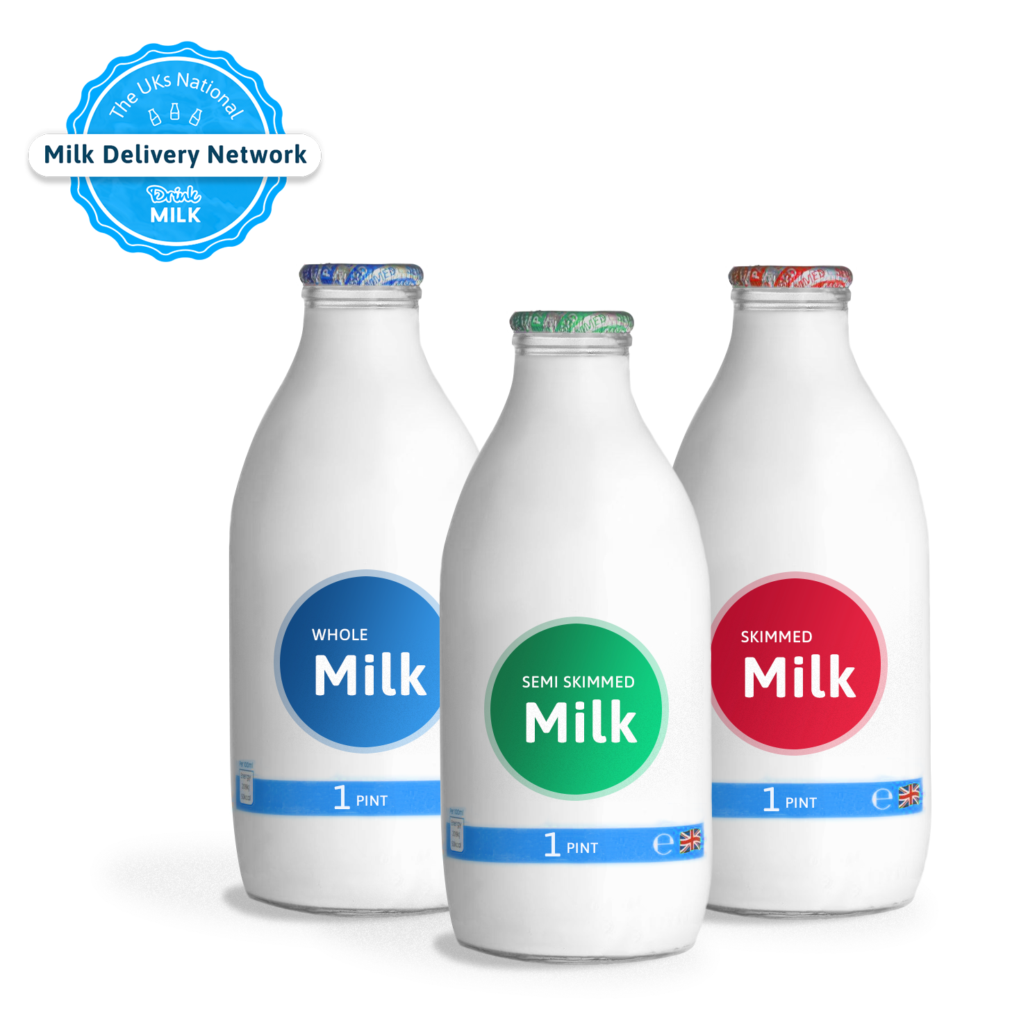 office milk delivery glass