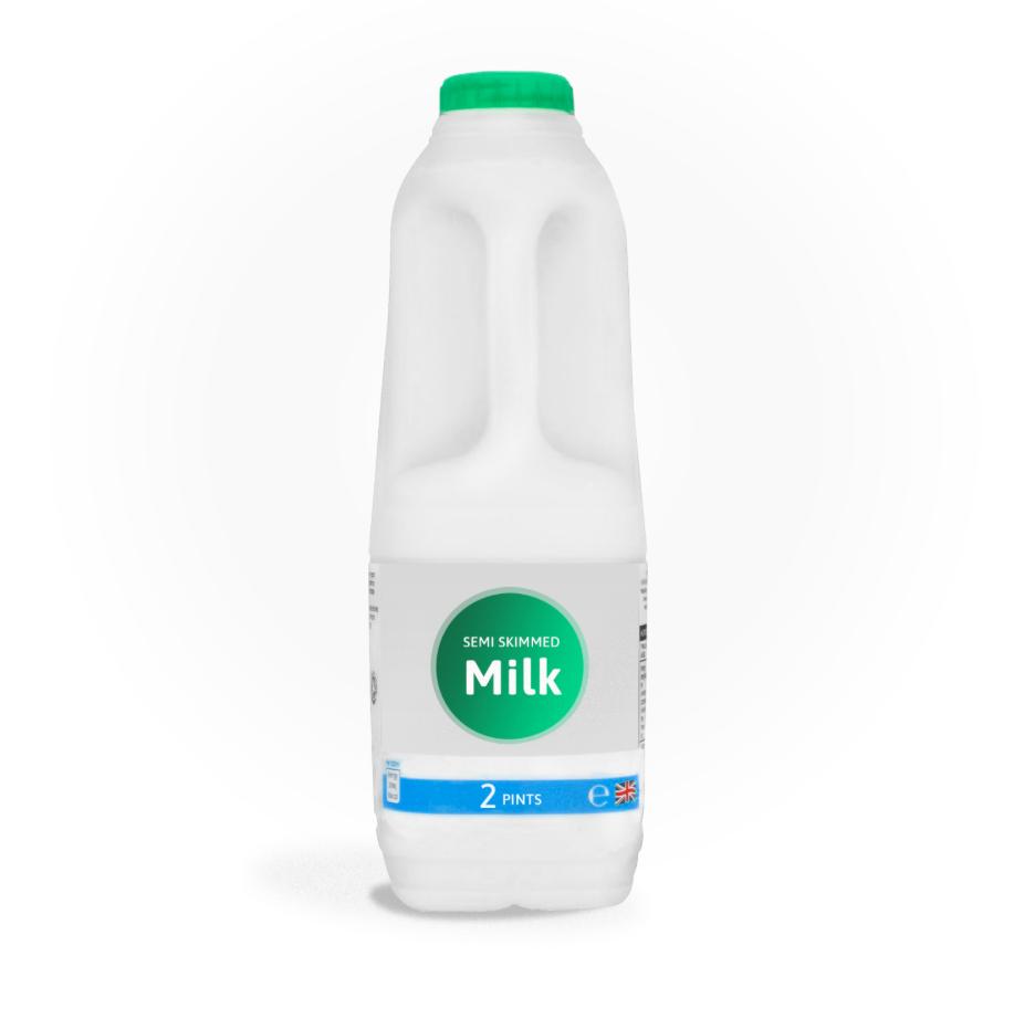 semi Office Milk 2ltre Bottle